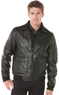 Perry Ellis Bomber with Knit Collar Jacket