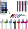 21-Pc. Stylus, Charge & Sync Cable Bundle for Apple Devices
