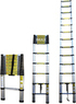 12 1/2ft 12.5' Extension Telescoping Aluminum Ladder