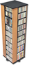 Ashlin 4-Sided Spinning Media Storage Tower