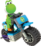 K'NEX Mario Kart Wii Yoshi and Standard Bike Building Set