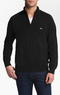 Lacoste Men's Quarter Zip Sweater