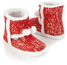 Mambo Metallic Splatter Slipper Boots
