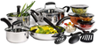 16-Piece Stainless Steel Cookware Set