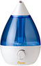 Crane Blue/White Drop Shape Ultrasonic Cool Mist Humidifier