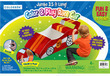 Colorbok Color and Play Corrugated Cardboard Race Car