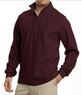 Men's Half-Zip Pique Polo Shirt