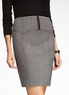Tweed Studio Stretch Corset Pencil Skirt