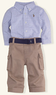 Tattersall & Cargo Pant Set