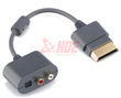 RCA Audio Cable Adapter for Microsoft Xbox 360