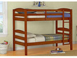 Mainstays Twin-Over-Twin Wooden Bunk Beds