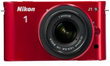 Nikon 1 J1 Mirrorless Digital Camera (Refurbished)