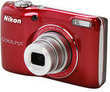 Nikon COOLPIX L26 Red 16.1MP Digital Camera (Refurbished)