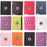 Rotating Faux Leather Smart Cover Case for iPad