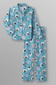 Joe Boxer Girls' Flannel Sheep Pajamas
