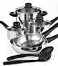 Tools of the Trade Basics 10 Piece Set Cookware