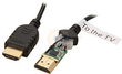 10' Generic Ultra Thin M/M HDMI Cable