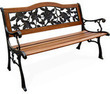 Cast Iron Camel Back Bench