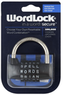 Wordlock 5-Dial Combination Padlock