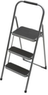Gorilla Ladder 3-Step High-Back Steel Step Stool