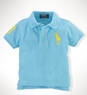 Baby Boys' Mesh Big Pony Polo