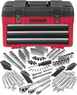 Craftsman 182 pc. Mechanics Tool Set with 3-Drawer Chest