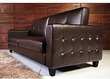 Rome Faux Leather Convertible Sofa Bed