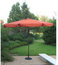 Aluminum 10-foot Patio Umbrella
