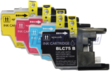 Two 4-Packs of Brother LC75 Compatible Inkjet Cartridges