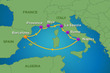 7-Night France, Spain & Italy Cruise