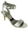 Erikk Stone Metallic Sandals