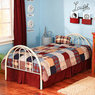 Brooklyn Twin Bed, White