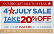 Smarthome - 20% Off Select Fourth of July Items