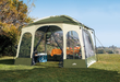 Northwest Territory 10-Foot Deluxe Screened Gazebo