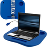 Laptop Buddy Blue Desk w/ Removable Light & Cup Holder