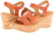 Korks by Kork-Ease Brie Arancio Heeled Sandals