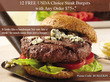 Stock Yards - Free 12 Usda Steak Burgers With $75+ Order