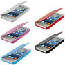 Color Wallet Leather Hard Folio iPhone 5 Case