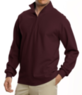 Traveler Long-Sleeve Half-Zip Pique