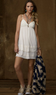 Women's Tiered Lace-Trimmed Dress