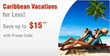 CheapOair.com - Up to $15 Off Caribbean Vacations