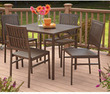 Cosco 5-Piece Folding Patio Dining Set