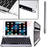 Aluminum Ultra Thin Bluetooth 3.0 Stand Keyboard Case