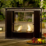 Wesley Indoor/Outdoor Portable Fireplace