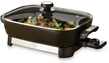 16 Oster Countertop Electric Skillet w/ Glass Cover