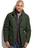 Nautica Men's 3-in-1 Field Coat with Quilted Vest