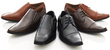 Franco Vanucci Men's Slip-On with Top Strap Dress Shoes