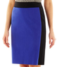 Liz Claiborne Women's Colorblock Pencil Skirt