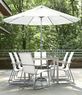 Vonnegut 7pc Outdoor Dining Set