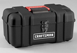 Craftsman 14 Plastic Tool Box with Removable Tray